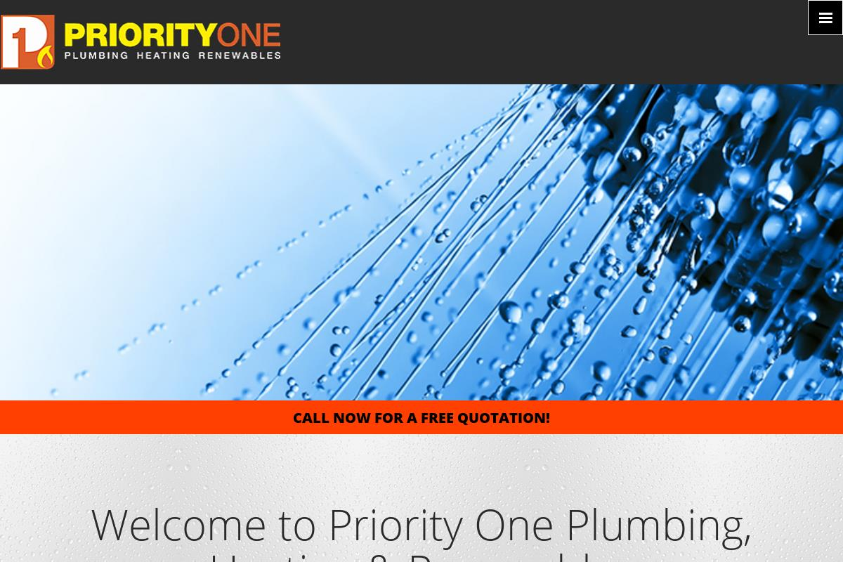 Services : Priority One Plumbing & Heating Limited
