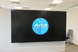 A 4 Screen Video Wall Installed And Commissioned By Our Engineers.