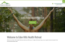 Eden Hills Health Retreat - Fitness website design by Toolkit Websites, Southampton