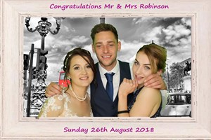Make your Wedding a day to remember with one of our Photobooths or Magic Selfie Mirror.