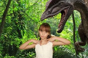 Child & Dinosaur