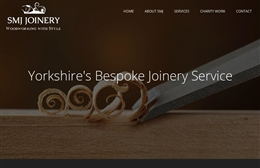 SMJ Joinery - joinery website design by Toolkit Websites, professional web designers