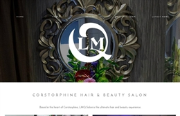 LMQ Hair & Beauty - website design by Toolkit Websites, Southampton