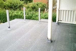 Construction of Flat Roof Balcony Area