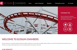 Elysium Chambers - Financial website design by Toolkit Websites, professional web designers