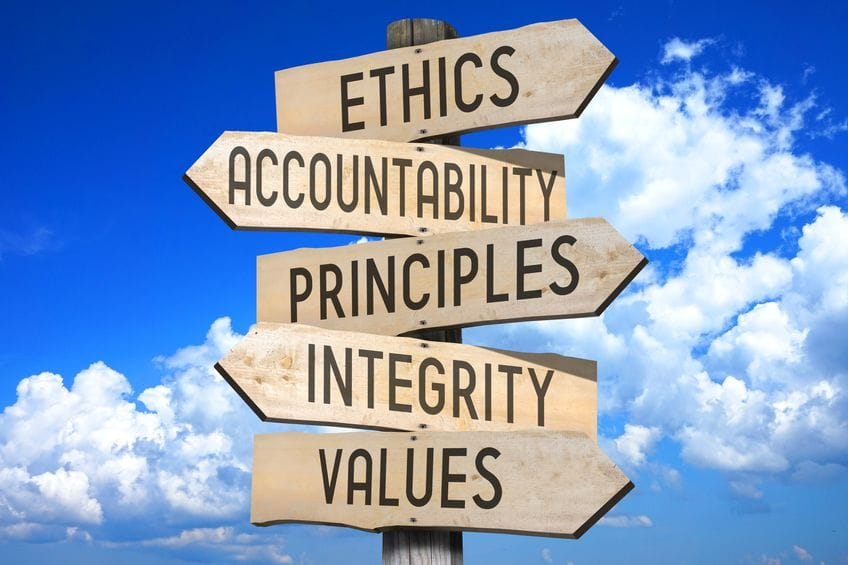 Ethics, Passion, Principles Crossroads