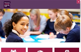 Diocese of Leicester Academies Trust (DLAT) - School website design by Toolkit Websites