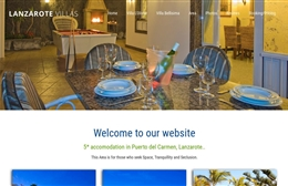Lanzarote Villas - website design by Toolkit Websites, professional web designers