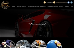 Prestige Mobile Valets - Cleaning website design by Toolkit Websites, Southampton