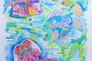 Barrier Reef Colourful Fish