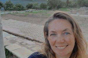 Victoria at the site of Ancient Messini, Greece