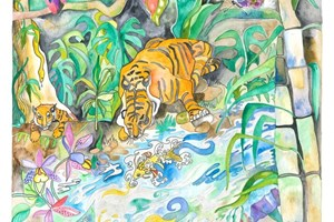 The Magical River Tigers <iframe frameborder='no' scrolling='no' src='http://www.maisonartsoleil.com/pp/1313'  width='250px'  height='145px' ></iframe>