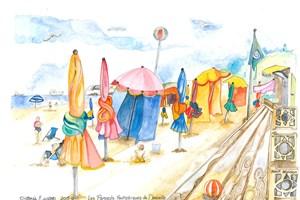 Normandy, Les Parasols Fantastiques de Deauville <iframe frameborder='no' scrolling='no' src='http://www.maisonartsoleil.com/pp/1265'  width='250px'  height='145px' ></iframe>