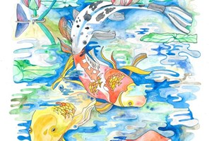 Curious Koi Quartet