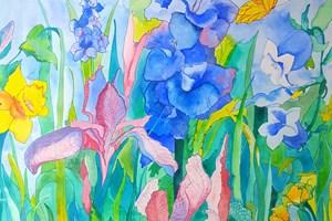 Wild Flower Garden <iframe frameborder='no' scrolling='no' src='http://www.maisonartsoleil.com/pp/1309'  width='250px'  height='145px' ></iframe>