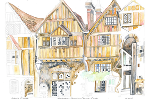 Winchester Cheyney Court greetings card<iframe frameborder='no' scrolling='no' src='https://www.maisonartsoleil.com/pp/1293'  width='250px'  height='145px' ></iframe>