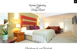 Winton Upholstery & Design Ltd - Interior Design website design by Toolkit Websites, professional web designers