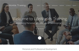 LifeWorlds Training - website design by Toolkit Websites, Southampton