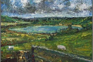 Claypit lake at the foot of Roughtor 