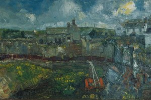 Gales blowing up over Trevalga