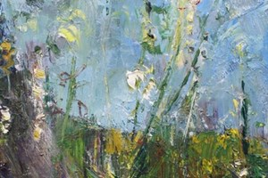Hollyhocks 1 