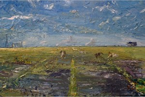 The disused aerodrome at Davidstow