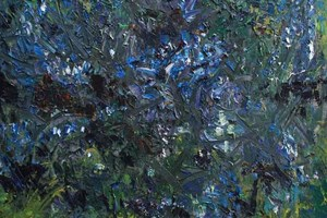 Ceanothus with bees