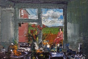 The window sill
