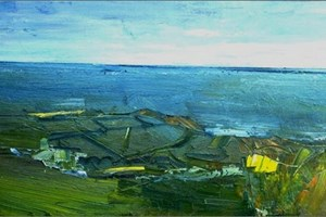 Trevalga from the top field