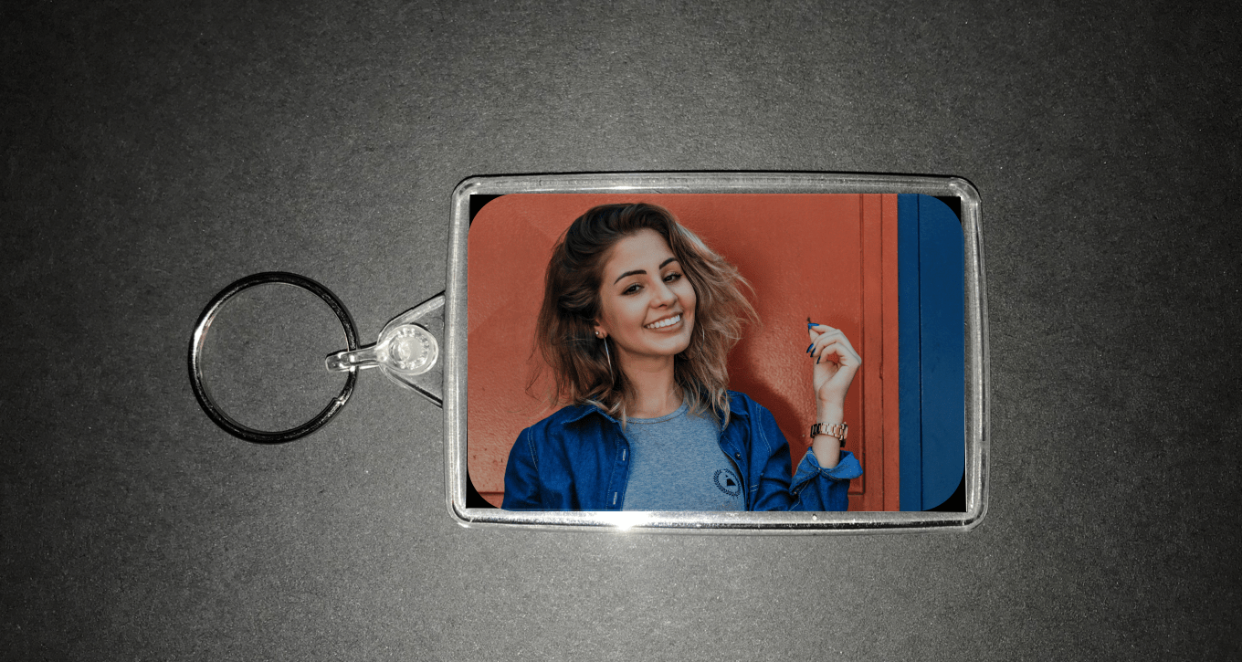 Photo Keyrings from the Photobooth
