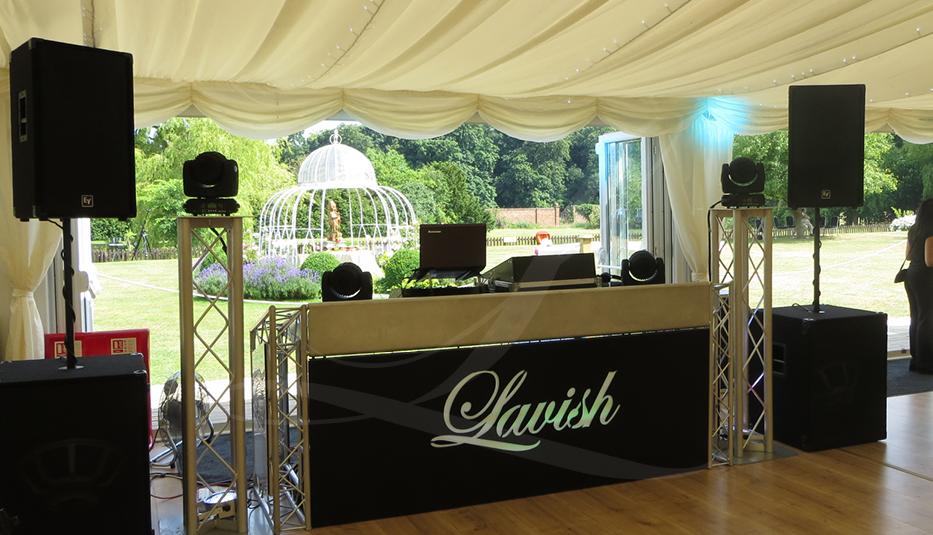Lavish Events DJ Booth