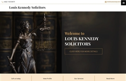 Louis Kennedy Solicitors - Solicitors web design by Toolkit Websites, Southampton