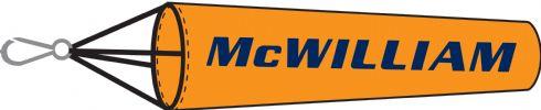 Dayglow Orange Windsock with Logo