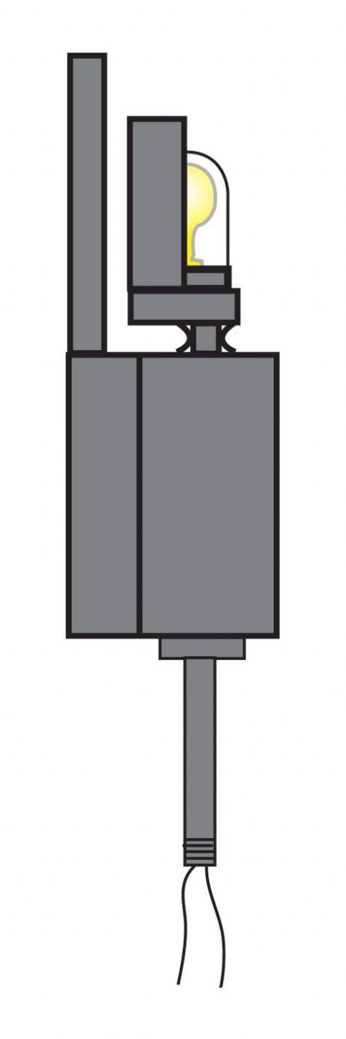 Internally Lit Windsock Light Unit