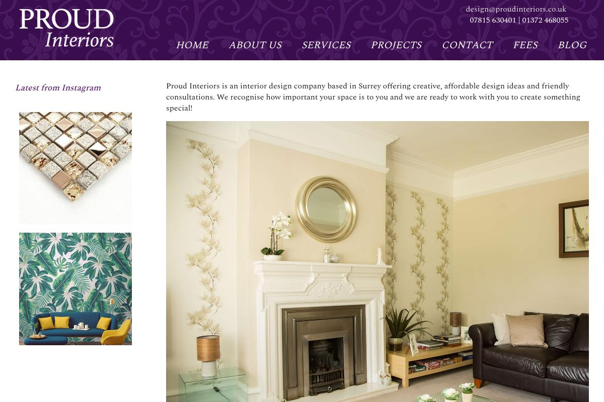 Welcome To Proud Interiors Ltd : Proud Interiors