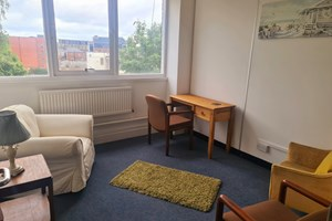 Harrington Consultation Room for 1-2-1 Counselling Sessions.