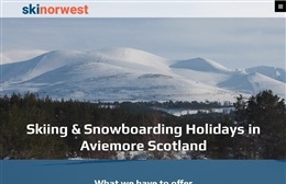 Ski Norwest - Website design by Toolkit Websites, Southampton, Hampshire
