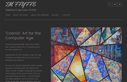 Terrence Michael Ffyffe - Artist website design by Toolkit Websites, Southampton