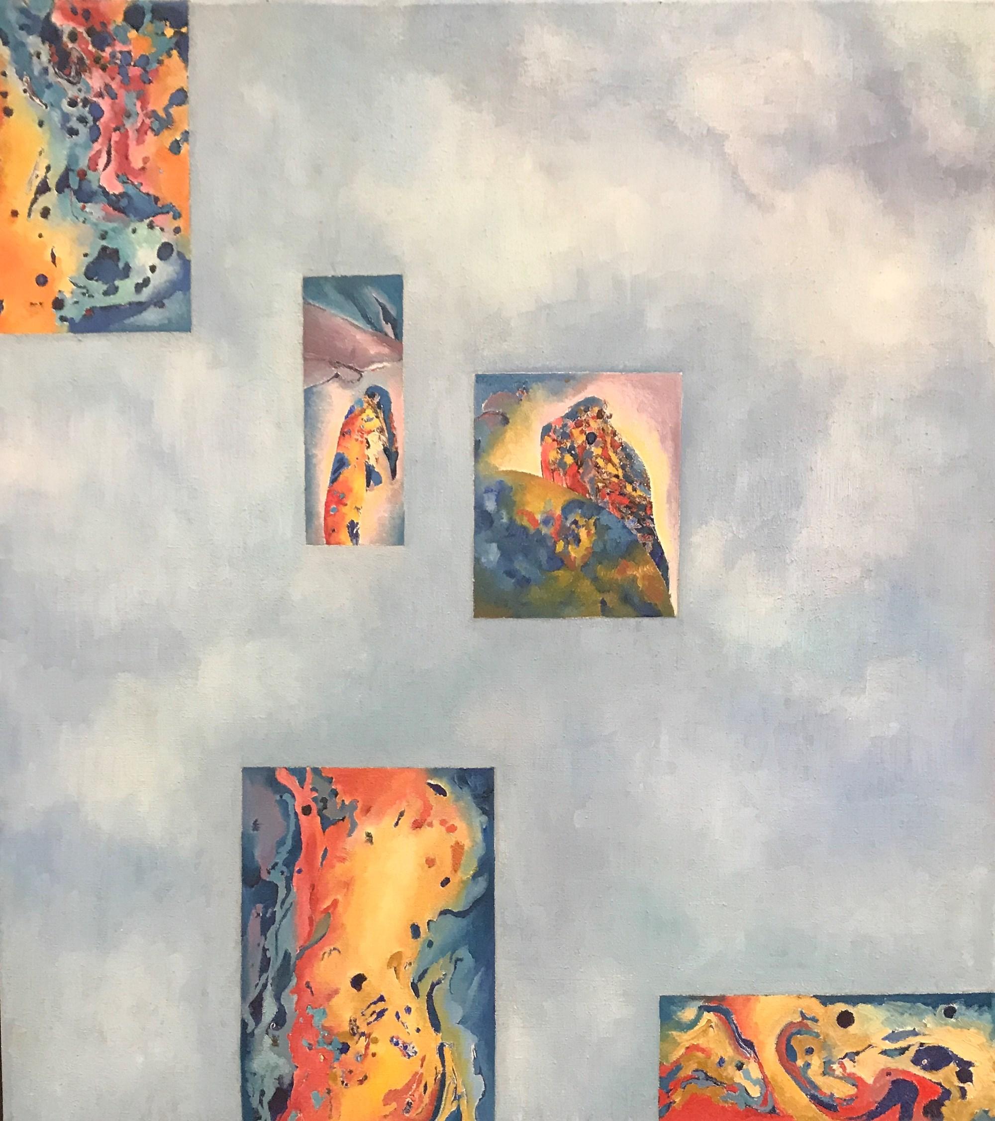 Isolated Memories, Oil on Linen, 40cm x35cm