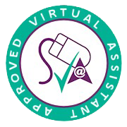 Logo of Society of Virtual Assistants of which Kerry Lummus is an approved member