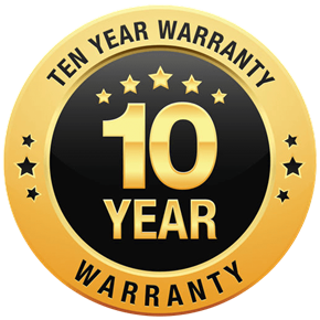 10 Year Guarantee Icon