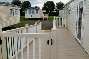 Decking Area Sunny Holiday Home