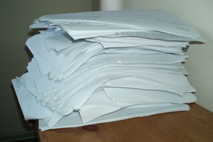 Most of the printed script for Risen.