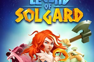 Legend of Solgard Title Screen