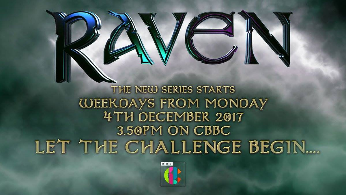 Raven, CBBC launches, New Raven, BBC, Television, Let the challenge begin
