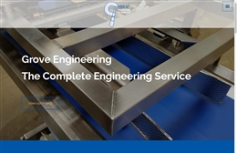 Grove Engineering Services Ltd - website design by Toolkit Websites, professional web designers