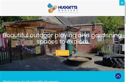 Huggetts Nursery - Nursery website design by Toolkit Websites