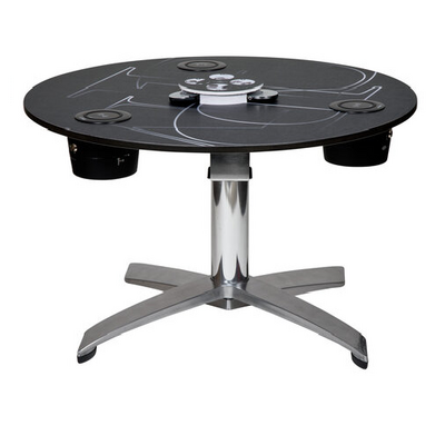 white bistro touchdown charging table