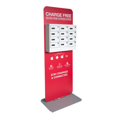 secure charging locker