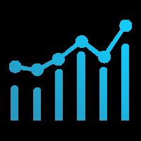 Graph Analytics Icon